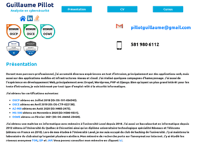 guillaume-pillot.ca