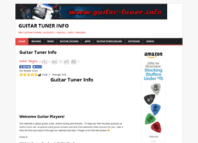 guitar-tuner.info