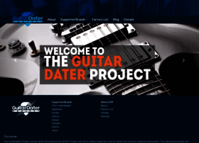 guitardaterproject.org