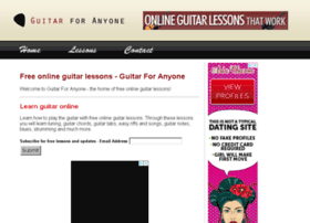 guitarforanyone.com