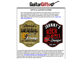 guitargifts.com