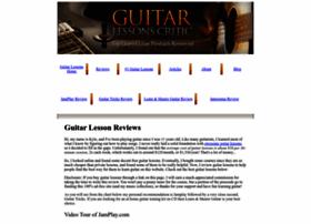 guitarlessonscritic.com