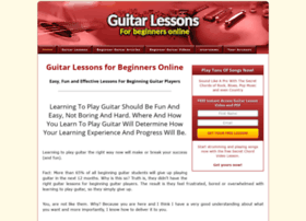 guitarlessonsforbeginnersonline.net