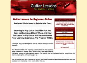 guitarlessonsforbeginnersonline.net