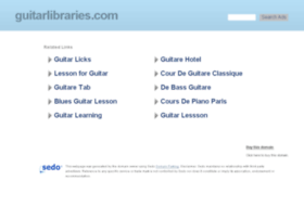 guitarlibraries.com