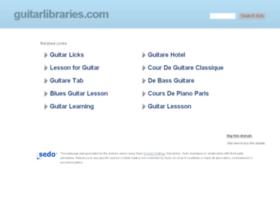 guitarlibraries.com