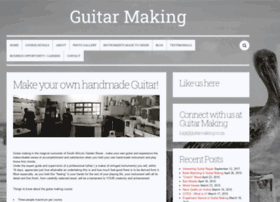 guitarmaking.co.za