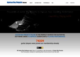 guitarrigpresets.com