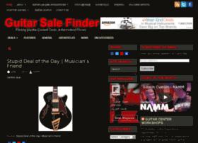 guitarsalefinder.com