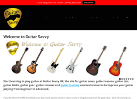 guitarsavvy.co.uk