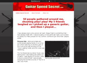 guitarspeedsecret.com