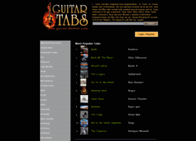 guitartabsfree.com