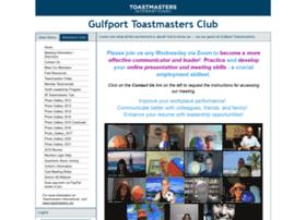 gulfporttoastmasters.com