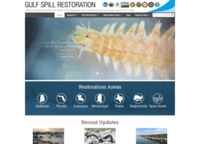gulfspillrestoration.noaa.gov