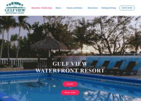 gulfviewwaterfrontresort.com