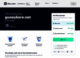 guneykore.net
