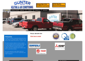gunterheatingandair.com