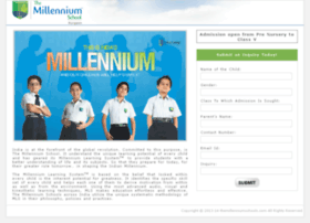 gurgaon.themillenniumschools.com