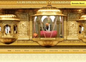 gurudwarashriharkrishansahibji.org