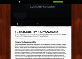 gurumurthykalyanaram.brandyourself.com