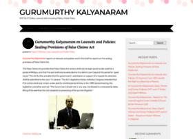 gurumurthykalyanaramblog.wordpress.com