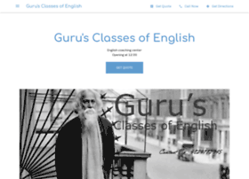 gurusclassesofenglish.com