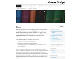 guruscript.com
