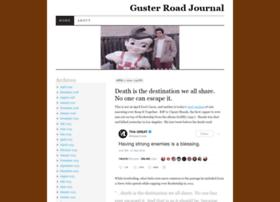 gusterroadjournal.wordpress.com