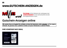 gutschein-anzeigen.jimdo.com