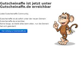 gutscheinaffe.com