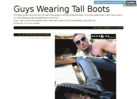 guyswearingtallboots.tumblr.com