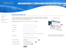 gxs-license.galaxysemi.com
