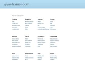 gym-trainer.com