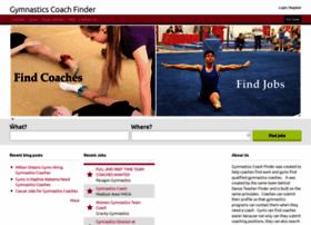 Gymnasticscoachfinder.com