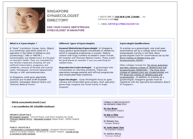 gynaecologist.sg