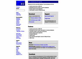 h2database.com