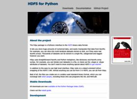 h5py.org