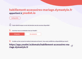 habillement-accessoires-mariage.dymastyle.fr