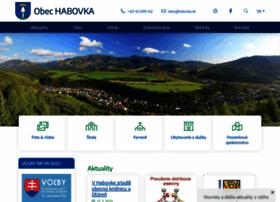 habovka.sk