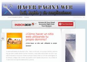 hacerpaginaweb.biz