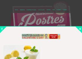 haciendopostres.com
