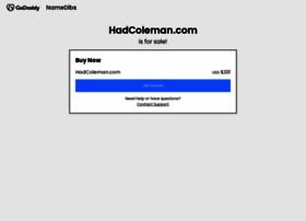 hadcoleman.com