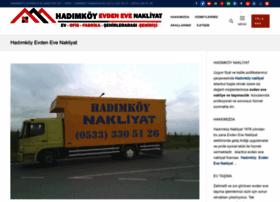 hadimkoyevdenevenakliyat.net