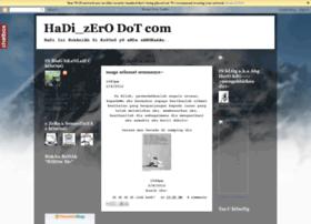 hadizero.blogspot.com
