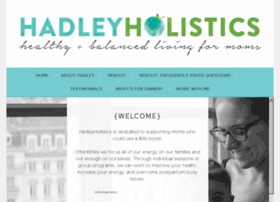 hadleyholistics.wordpress.com