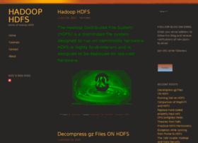 hadoophdfs.com