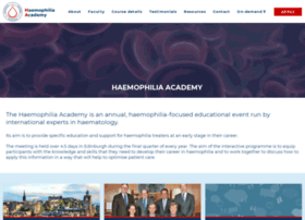 haemophiliaacademy.com