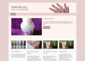 haende.org
