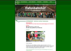 hafenbahnhof.com