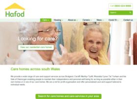 hafodcare.org.uk
